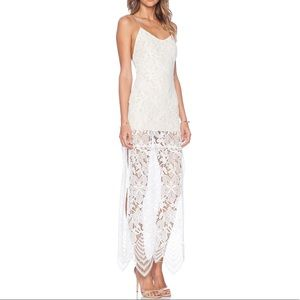 Lovers & Friends Reflection Lace Maxi Dress